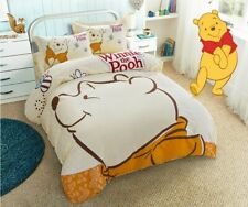 Winnie the Pooh Queen Bed Quilt Cover Set