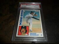 1984 O-PEE-CHEE OPC #218 DENNIS ECKERSLEY BOSTON RED SOX  HOF PSA 10 GEM MINT