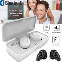 Waterproof Wireless Bluetooth Sports Headphones Headset Stereo Earphone Earbuds