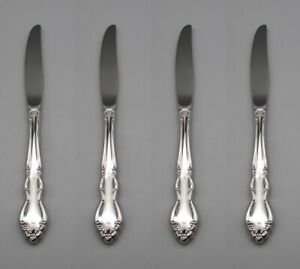 Oneida Stainless DOVER (Glossy) Dinner Knives - Set of Four USA