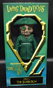Living Dead Dolls - LOST IN OZ - PURDY as The SCARECROW variant - Mezco - MIB
