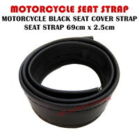 MOTORCYCLE BLACK SEAT COVER STRAP SEAT STRAP-  690mm long