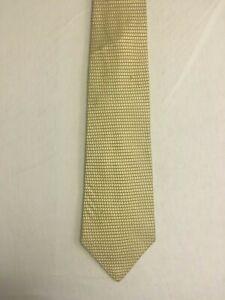 NEVER WORN Jones New York Gold Checkered Silk Tie
