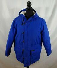 Vintage Ralph Lauren Ralph Women's Puffer Jacket Blue Medium
