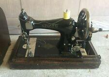Singer S2327571 Vintage Sewing machine Hand Cranked
