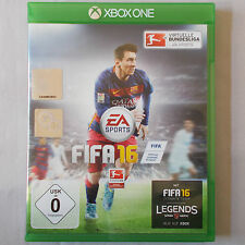 XBOX ONE-Microsoft ► EA SPORTS FIFA 16 ◄ 2016 | Dt. versione | lega federale | Top