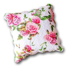 """DaDa Bedding Romantic Roses Spring Floral Pink Cotton Euro Pillow Sham Cover 26"""""""