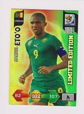 RARE.Panini Adrenalyn XL World Cup 2010 Samuel Eto'o Limited Edition.CARD.LOT.1