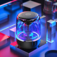 LED Portable Bluetooth Stereo Speaker Wireless LED Dancing-Light For Party New