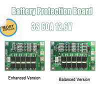 3S 12.6V Li-ion Lithium 25A 18650 Packs BMS BatterieProtection PCB Balance Board