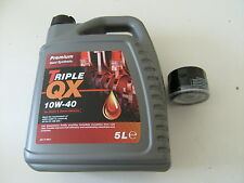 OIL AND OIL FILTER RENAULT MEGANE SCENIC 1.4 1.6  2.0 PETROL 1.9 DIESEL TO -2003