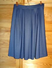 H&M HENNES DIVIDED Pleated Skater Skirt *NEW* Size Large