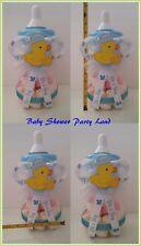 Duck Baby Shower Boy Centerpiece Duckling Bottle Large Piggy Bank Table Decor