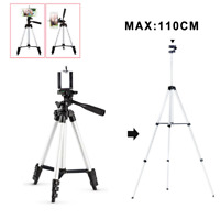 Adjustable Camera Tripod Stand Holder Mount for iPhone Samsung Cell Phone