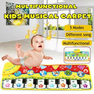 Music Krabbeldecke Spieldecke Spielbogen Spielmatte Erlebnisdecke Babyspielmatte