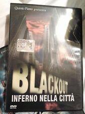 BLACKOUT INFERNO NELLA CITTA' (1978) DVD HORROR raro fuori catalogo OOP UNICO