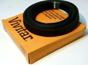 Vivitar 52mm screw in Rubber Lens Hood Shade for normal 50mm f1.8 f1.4 lenses