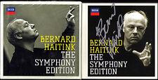 Bernard HAITINK Signiert SYMPHONY EDITION 36CD Beethoven Brahms Bruckner Mahler