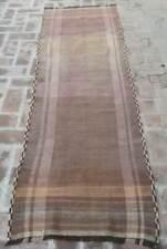 2'5 x 8 Handmade vintage afghan tribal maldari persian hallway kilim runner rug