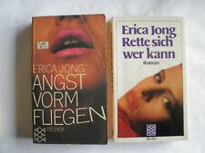 Erica Jong Doppelpack: Angst vorm Fliegen und Rette sich wer kann