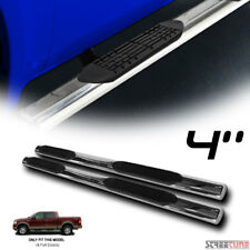 "4"" S/S HD Chrome Side Step Nerf Bar Running Board 04-08 Ford F150 Super Crew Cab"