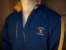 U.S. Open Golf 2006 Winged Foot Large Blue Marshall Rain Jacket by Ashworth