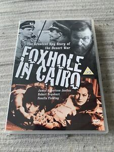 Foxhole In Cairo (DVD, 1960) Classic War Film. Michael Caine. L@@K