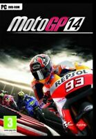 MOTOGP 14 BRAND NEW SEALED DVD FOR PC. EXPERIENCE THE THRILLS OF A MOTOGP RIDER.