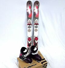 Girls Ski Package, Head 107cm Mojo Spawn III Skis, Roxy Bindings, Alpina Boots