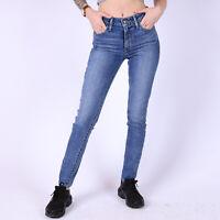 Levi's 721 High Rise Skinny Blau Damen Jeans DE 34 / US W25 L30