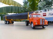 n° 39 SCANIA L 110  Semi Remorque transport de bois fardier 1/43 Neuf en Boite
