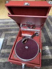 Koffergrammophon Electrola 101N  (HMV Germany) von 1931