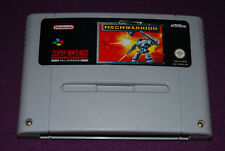 MECHWARRIOR - Beam Software/Activision - Jeu Action Super Nintendo SNES NOE/SFRG