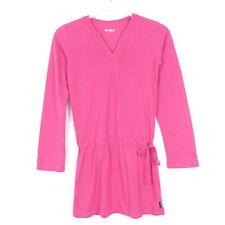 JAKO-O Kleid Longshirt Bindegürtel Pink Baumwolle Gr. 152 158