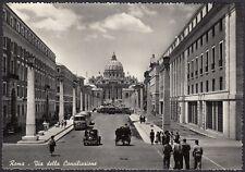 AA4650 Roma - Città - Via della Conciliazione - Animata - Cartolina - Postcard