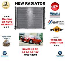 Per Rover 25 RF 1.4 1.6 1.8 16V 1999-2004 NUOVO RADIATORE RAFFREDDAMENTO MOTORE OE Quality
