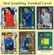 Panini ROAD TO WORLD CUP 2018 ☆☆ ITALY ☆☆ Football Cards #ITA01 to #ITA18