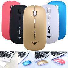 2.4GHz Wireless Optical Cordless Scroll Mouse For PC Laptop Computer USB Dongle