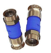 NEW 1000Pieces SNAP & SEAL DIRECTV BLUE RG-6 Coaxial 21mm Compression CONNECTORS
