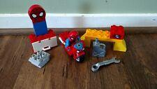Lego duplo 10607 Spider-Man Web Bike Workshop Complete Set