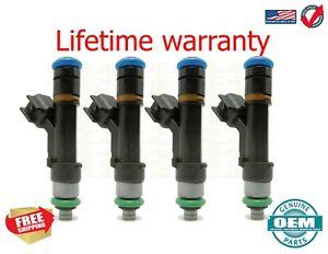 X4  Bosch fuel injectors MAZDA Tribute 2008 2.3L 0280158105