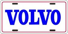 VOLVO METAL LICENSE PLATE AUTO CAR TAG NUMBER #1036