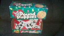Peluches anciennes : Pound Puppies : Les dalmatiens de Noël . Neuf . 1996 .