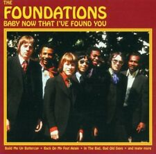 Baby Now That I've Found You By The Foundations Import 2 CD SET NEW SEALED RARE