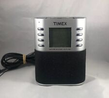 Timex T307S Dual Alarm Clock Radio Nature Sounds Preset Tuning MP3 Line-in