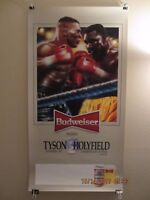 Mike Tyson vs. Evander Holyfield - Boxing Poster presented by Budweiser