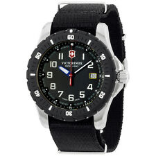 Victorinox Swiss Army Black Dial Black Nylon Strap Men's Watch 2416741