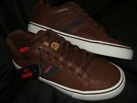 NEW Mens Levi's Turner Nappa Dark Brown Athletic Comfort Fashion Sneakers Shoes