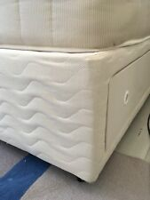 """4'6"""" DOUBLE BED BASE WITH FOUR STORAGE DRAWERS WITHOUT MATTRESS"""