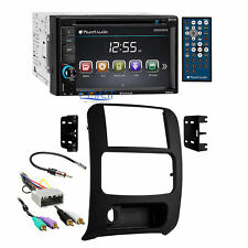 Planet Audio USB Bluetooth Radio 2Din Dash Kit Amp Harness for 02+ Jeep Liberty